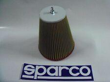 FILTRO ARIA SPORTIVO SPARCO TIPO BMC CONICO ASPIRAZIONE DIRETTA 030C10751V CONO