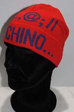 Cappello cuffia hat MOSCHINO articolo 01239 taglia UNICA colore 001 ROSSO Italy