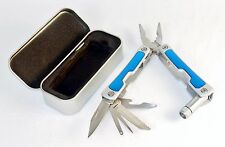 Multi-function Pocket Tool w/LED Light, Stainless Steel, Gift/Storage Box TS-229
