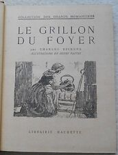 Charles Dickens Le Grillon du Foyer (The Cricket on the Hearth)