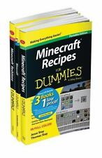 Minecraft for Dummies, Portable Edition 3 Book Bundle by Jacob Cordeiro Paperbac