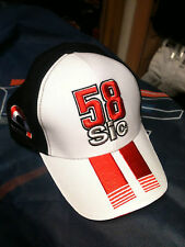CAP HAT CAPPELLINO MARCO SIMONCELLI SIZE U ADJUSTABLE FREE SHIPPING
