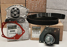 TIMING CAM BELT KIT & WATER PUMP RENAULT MEGANE III 1.9 DCI GENUINE OE RENAULT