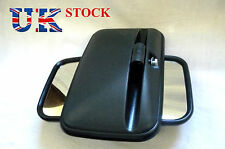 "Set of 2x 14"" x 7 "" Universal Mirrors Side Wing E marked fit Truck Lorry Bus Car"