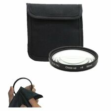 RISE(UK) 52mm Macro Close Up +8 Lens Filter For Nikon D5200 D5100 D3300 D3200