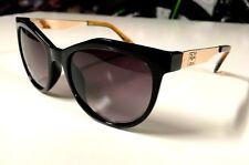 New Versace 1969 Italia Abbigliamento Womens' Sunglasses Black/Gold Eyeglass