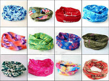 2 Pc. MULTIFUNCTIONAL STYLISH SCARF UNISEX BANDANA, SEAMLESS HEADNECKER BANDANAS