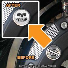 Brembo Front Brake Caliper Insert Set For Harley - GHOST SKULL - 086