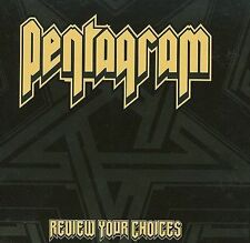 Review Your Choices [Digipak] by Pentagram (CD, Nov-2008, Season of Mist)