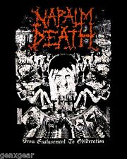 NAPALM DEATH cd cvr FROM ENSLAVEMENT TO OBLITERATION Official SHIRT XXL 2X new