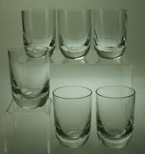 Lot of 6 possibly Krosno Port or Liqueur Glasses AE68