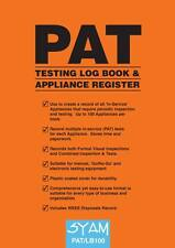 PAT Testing Log Book NEW **FREE P&P**