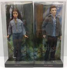 Pink Label Twilight Saga Bella and Edward Barbie MIB