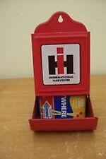 International Harvester Old Fashioned Metal Matchbox Holder
