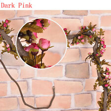 Artificial Fake Silk Rose Flower Vine Hanging Garland Wedding Party Home Decor
