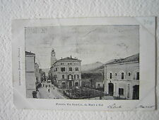 Cartoline Locale 1900 Emilia Romagna Modena Pavullo Via Giardini Da Nord A Sud