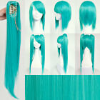 VOCALOID Hatsune Miku Long Teal Wig Hair for Jap Anime Cosplay & Halloween Party
