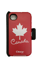 Otterbox Defender Series Case For  Apple Iphone 4/4s Canada Anthem Collection