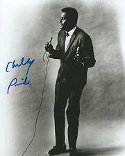 **GFA American Country Singer *CHARLEY PRIDE* Signed 8x10 Photo AD1 COA**