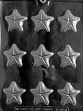 STARFISH PIECES Chocolate Candy Soap mold ocean nautical summer beach