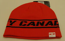 Team Canada 2014 Winter Olympics Sochi Hockey Red Toque Beanie Hat Cap Sideline