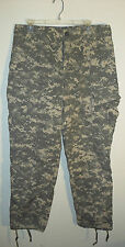green digital camo BDU combat uniform cargo pants size Medium - Long 34 x 34