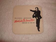 Michael Jackson Blood On The Dance Floor 1997 Promo Card Coaster Mega Rare