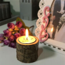 Original Ecological T-type Wooden Candle Holder for Weding Dinner Props Candlest