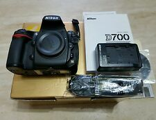 Nikon D700 Full Frame A1 Mint Condition With Box & Papers.