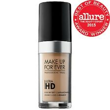 MAKE UP FOR EVER ULTRA HD INVISIBLE COVER FOUNDATION   R335 DARK SAND 1.01 oz