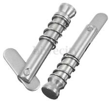 2Pcs Quick Release Pin Marine Grade 316 Stainless Steel For Boat Top Deck Hinge