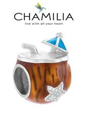 Genuine CHAMILIA 925 sterling silver MAI TAI holiday cocktail charm bead RRP £30