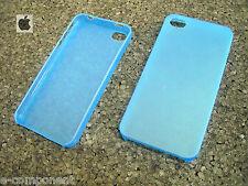 HOUSSE DE COUVERTURE POUR APPLE IPHONE 4 4S COULEUR BLUE TRANSPARENT