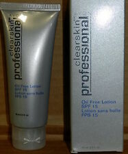 AVON CLEARSKIN PROFESSIONAL OIL FREE LOTION SPF 15 2.5 FL.OZ NIB