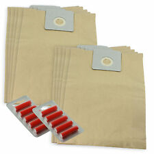 10 x HOOVER Vacuum Cleaner Bags Commercial S7068 S7070 C2808 510 + Fresheners