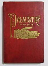 Antique PALMISTRY UP TO DATE Spells Tarot Gypsy Fortune Telling Occult Book