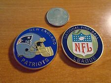 NFL New England PATRIOTS Football Team Challenge Coin / Medal Comes w Hard Case