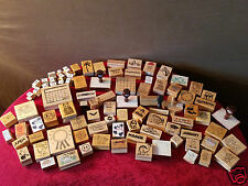 Gigantic Rubber Stamp Mega Lot Box 2 ----> L00k