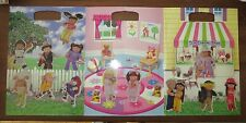 Cabbage Patch Kids Magnetic Magnet Board with 20 Magnets Good Condition