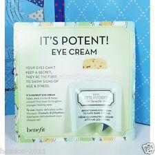 Nuevo * benefitit potentes Crema Contorno De Ojos tamaño de muestra