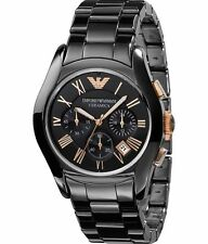 Emporio armani  AR1410 chronograph Men Ceramic Watch