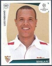 PANINI UEFA CHAMPIONS LEAGUE 2009-10- #428-SEVILLA-LUIS FABIANO