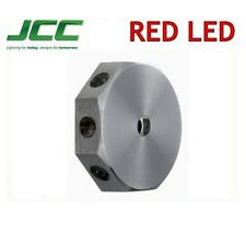 JCC Lavano Mini Wall Light Red 1w LED Designer Feature Lighting IP65 JC71239