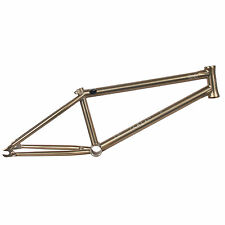 We The People BMX Sterling Frame V2 - Black Titan (gold) 20.6 - RRP£299.99