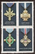 Scott #5065-68 Used Block of 4, Honoring Extraordinary Heroism