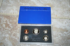 1983,US Coin Proof Set,5 Coin Set,Kennedy Half,Birth Year,Gift,Rare,FreeShip,720