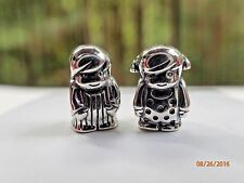 AUTHENTIC PANDORA PRECIOUS BOY 791530 & AUTHENTIC PANDORA PRECIOUS GIRL 791531