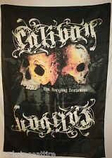 "Caliban The Undying Darkness Skulls 30"" X 40"" Fabric Poster Flag Tapestry-New!"