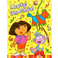 DORA THE EXPLORER Fiesta INVITATIONS AND THANK YOU NOTES (8) ~ Birthday Supplies