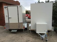 8ft x 5ft  mobile cool room Coolroom coolroom trailer walk in